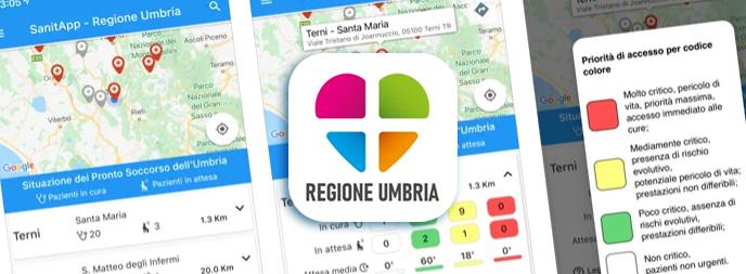 SanitApp - Regione Umbria