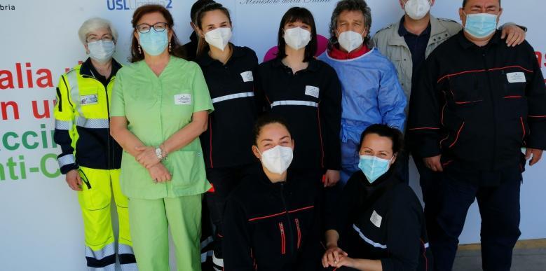 Staff vaccinale Orvieto